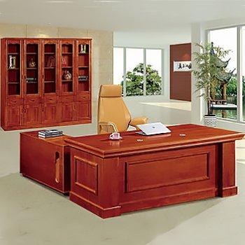 老板办公桌简约办公室...