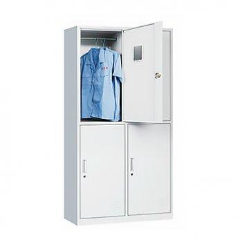 铁皮柜子员工更衣柜储...