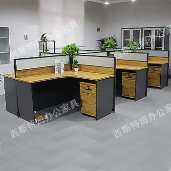 简约现代职员办公桌椅...