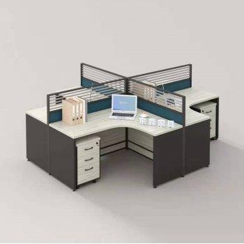 电脑桌椅屏风隔断职员...