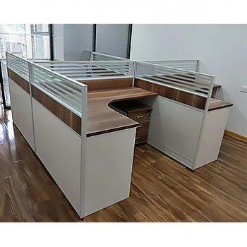 办公室职员桌组合简约...