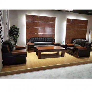 办公室沙发组合套装时...