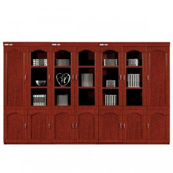 文件档案柜木质格子书...