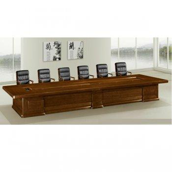 大型会议桌长桌实木会...