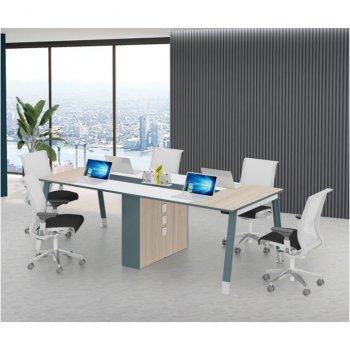 办公桌简约现代长条桌...