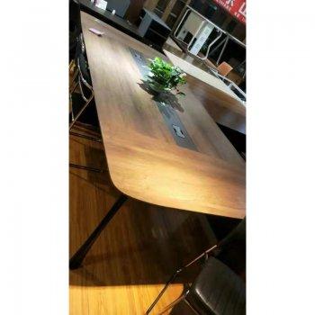大型会议桌长桌子简约...